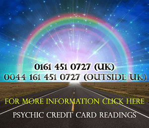 Psychic credit card readings
