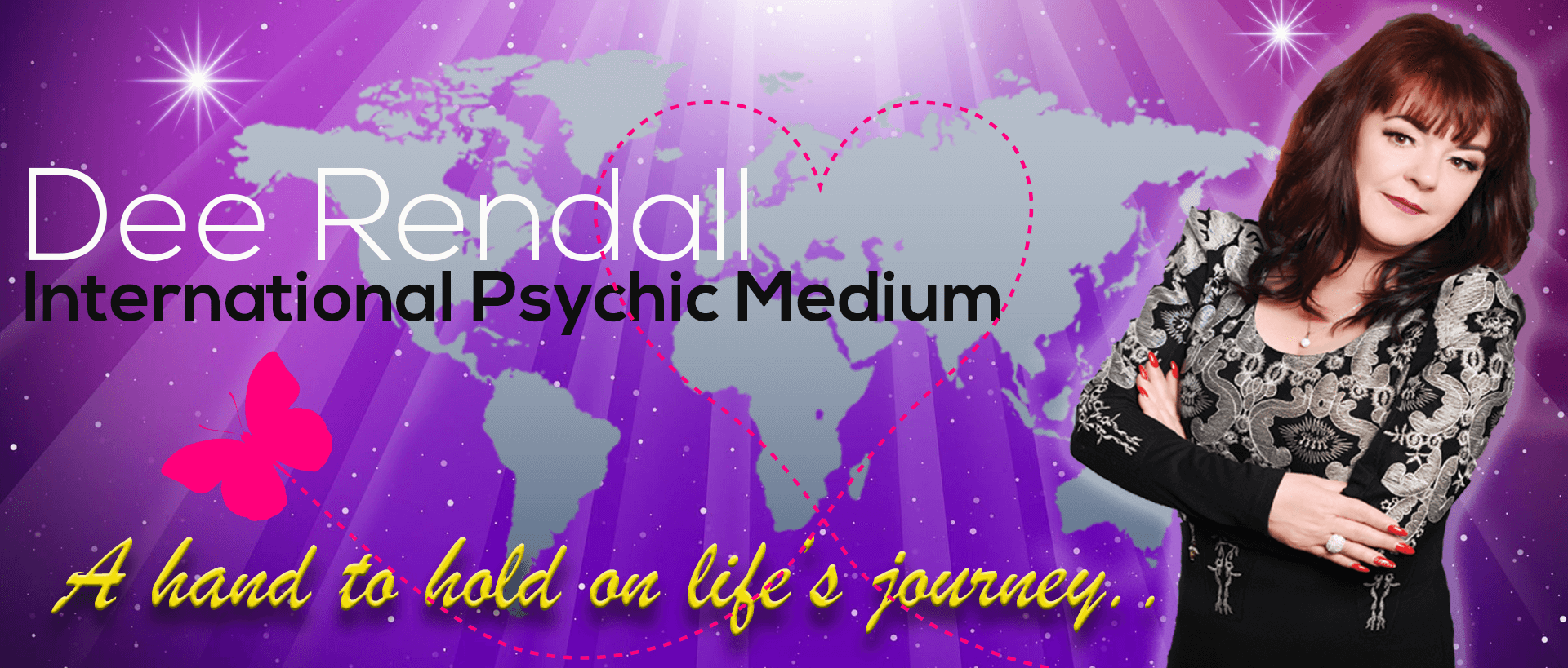 dee rendall psychic medium, face to face readings, international, uk, spiritual