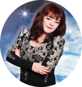 dee rendall, psychic telephone readings, psychic medium, circular, image