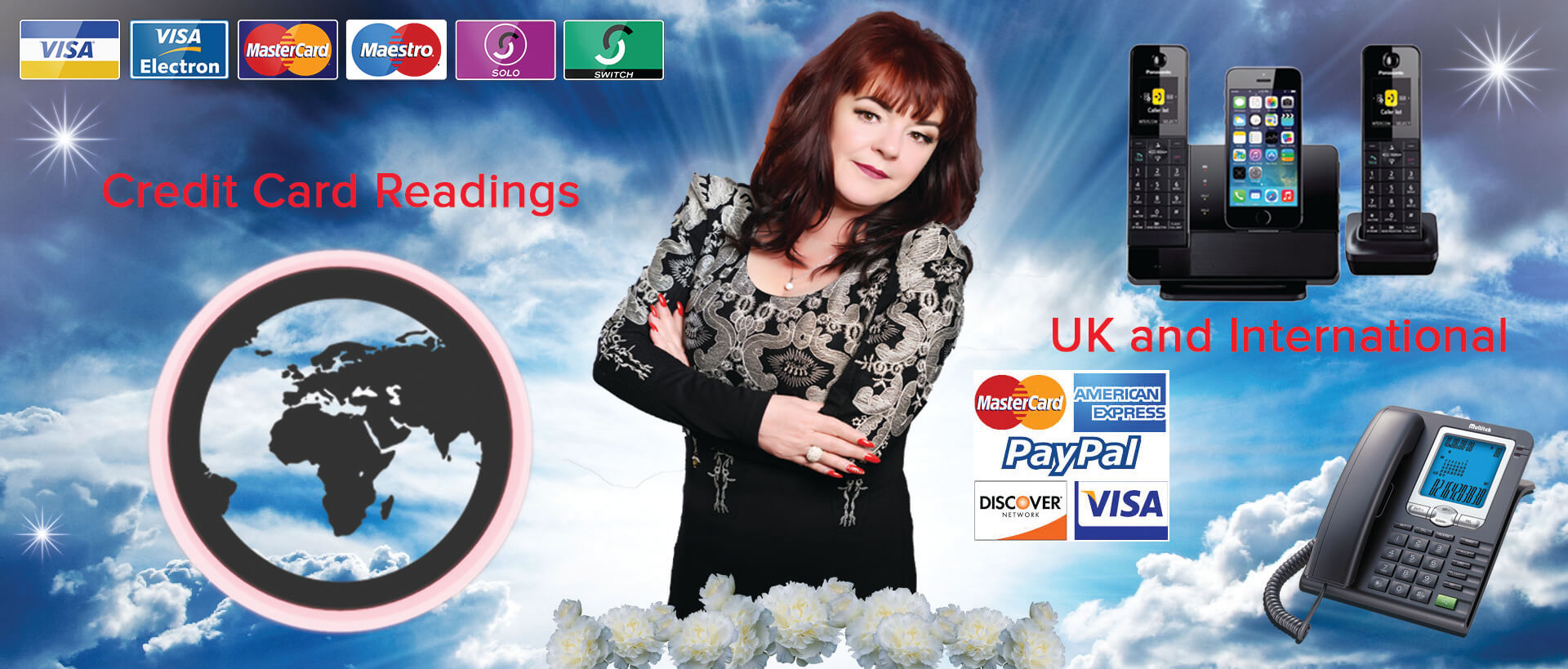 online psychic readings, dee rendall, credit card phone readings, psychic, spiritual