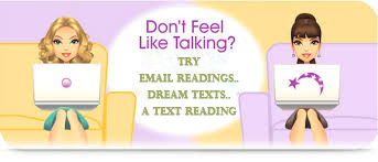 contact your psychic reader, dream texts, text reading, email reading